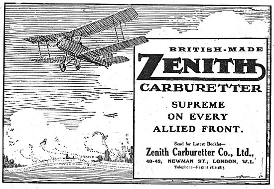 Zenith Aero Engine Carburetters: Supreme On Every Allied Front