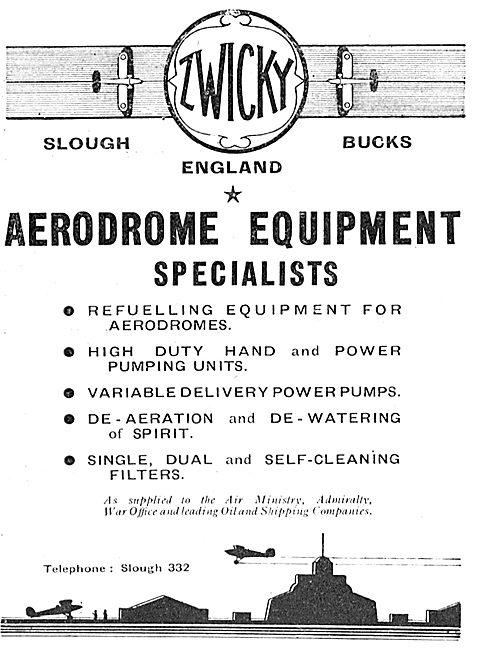 Zwicky Aerodrome Equipment Specialists
