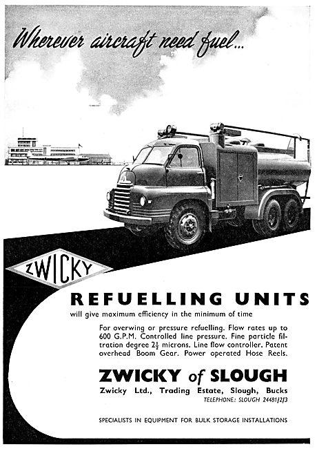 Zwicky Aircraft Refuelling Units