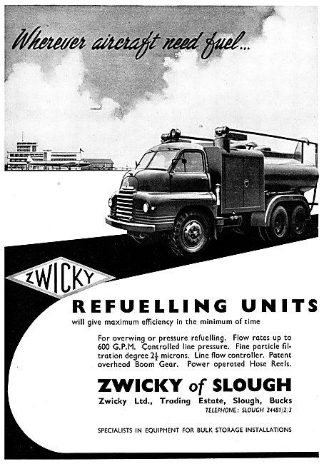 Zwicky Refuelling Units