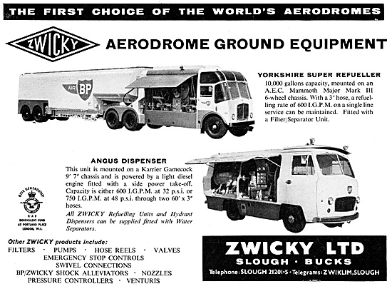 Zwicky Refuellers - Yorkshire Super Refueller - Angus Dispensers
