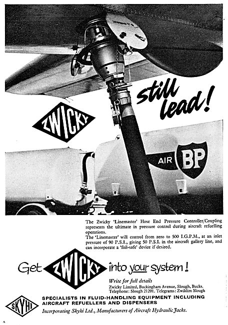 Zwicky Aircraft Refuelling Equipment