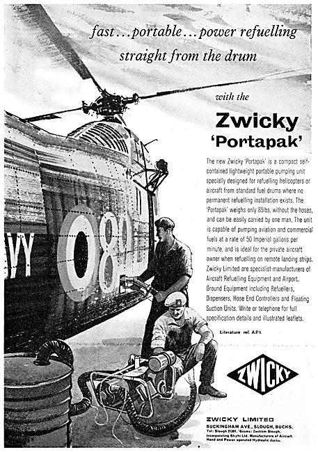 Zwicky Portapak Portable Fuel Pumping Unit