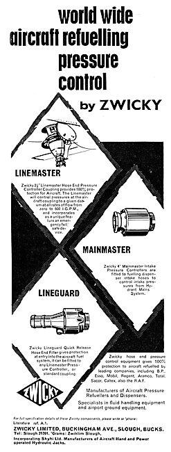 Zwicky Aircraft Refuelling Equipment 1965