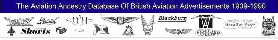 Historic British Aviation Advertisements Archive